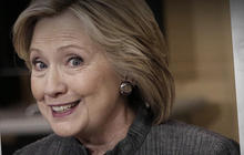 Clinton takes on Nevada as controversial book debuts