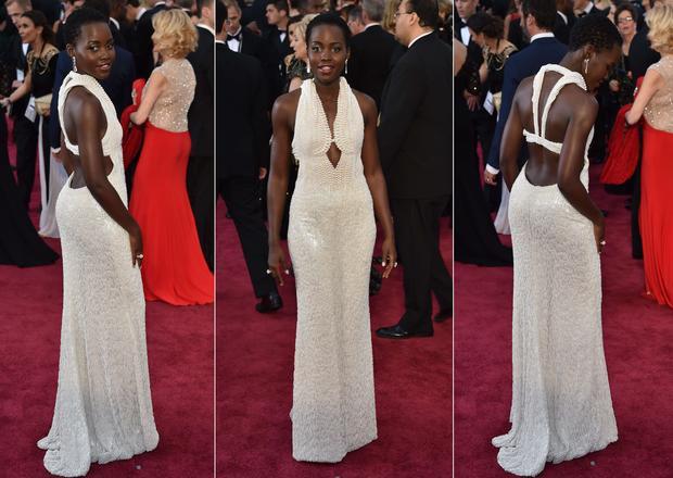 Lupita Nyong'o: A pearl of dress-dom