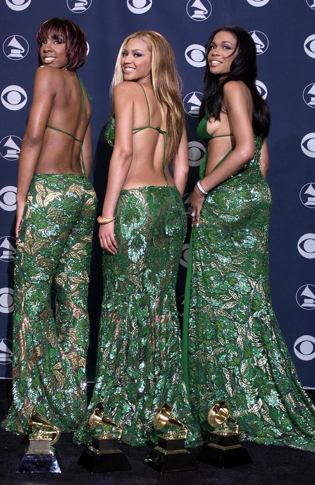 Beyoncé Knowles, Kelly Rowland, and Michelle Williams: Destiny's styled