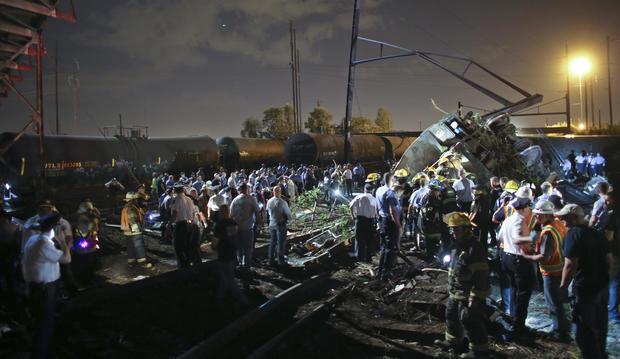 Amtrak train 188 derails