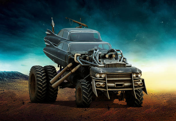 """Cadillac Evening News >> The Gigahorse - The cars of """"Mad Max: Fury Road ..."""