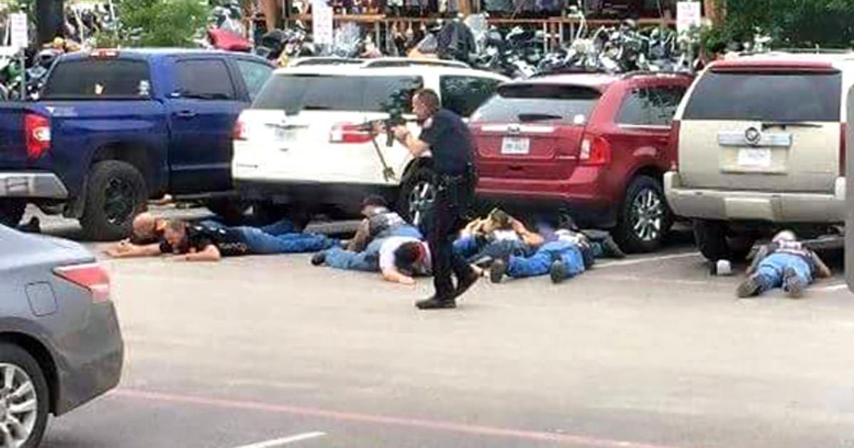 Biker Shootout in Waco - Waco biker gangs shootout
