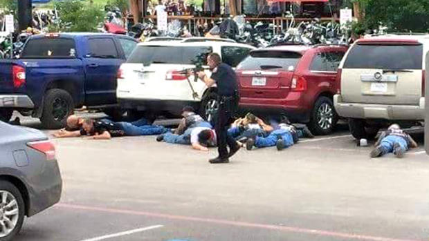AP: Police bullets hit bikers in deadly Waco melee - CBS News