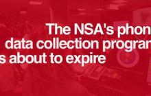 Will the NSA's phone data collection program expire?
