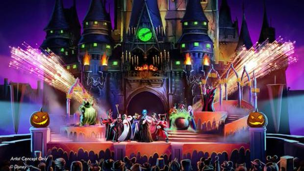 disney resurrects hocus pocus for halloween show at magic kingdom cbs news