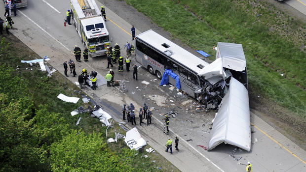 deadly collision in pennsylvania between academy bus