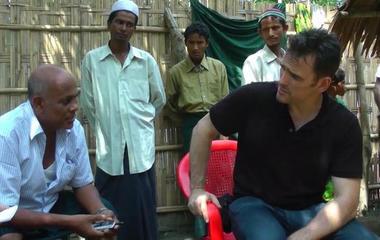 Matt Dillon shines spotlight on Myanmar's Rohingya Muslims