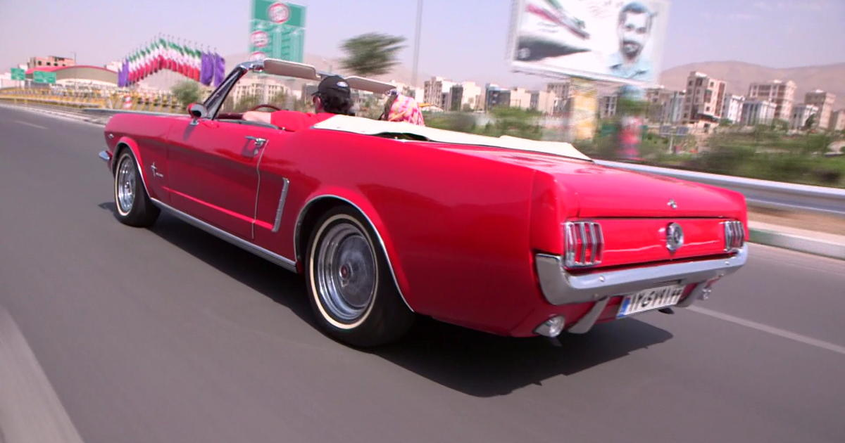 American Muscle Car Owners In Iran Await Revival Cbs News