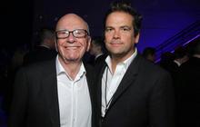 Media baron Rupert Murdoch names son as CEO of Fox empire