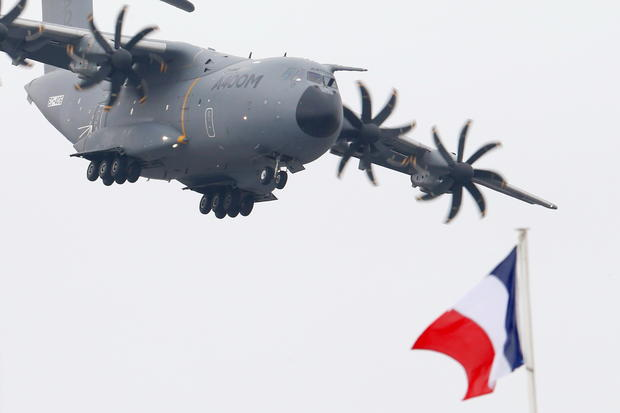 Flying high at the Paris Air Show