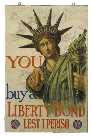 """I Want You"": Vintage WWI posters"