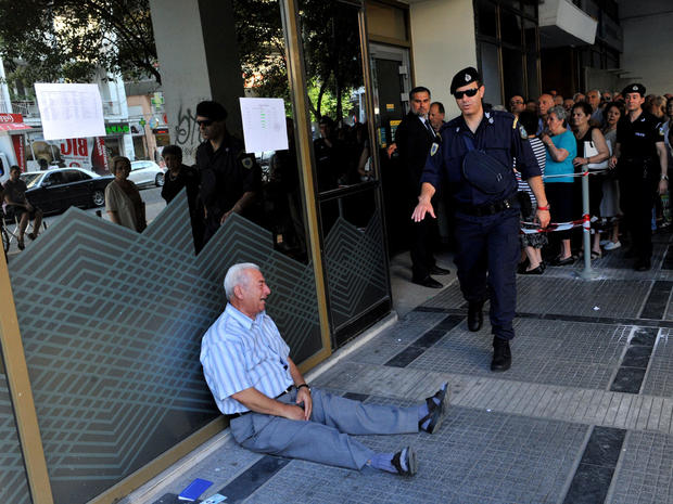 Greece debt default crisis