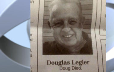 Man penned his own two-word obituary
