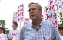 """Jeb Bush: """"No tolerance"""" for Trump's views on Mexican immigrants"""