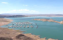 Digging for water under Lake Mead