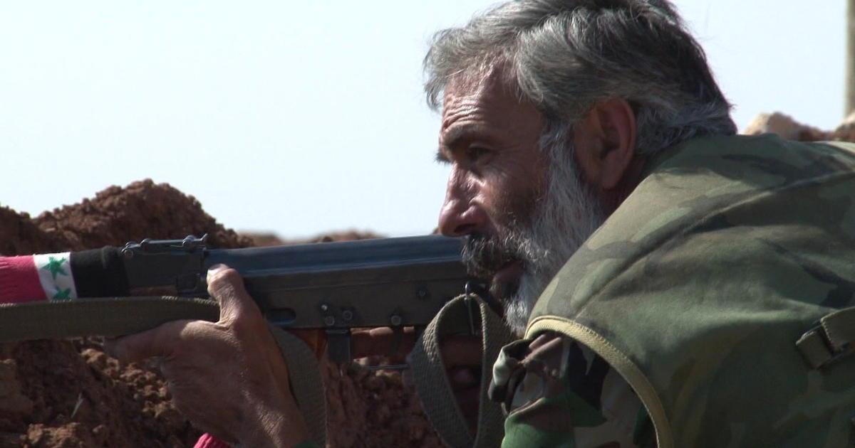 Inside Syria: Militia aids Syrian army near Jordanian border