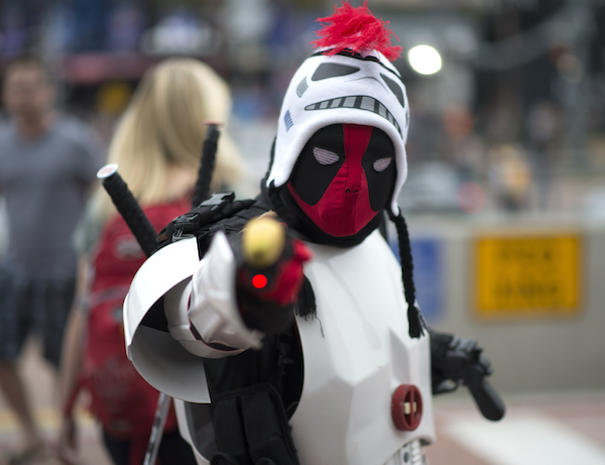 The craziest costumes at Comic-Con 2015