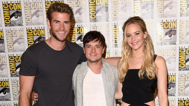 "Jennifer Lawrence, ""Hunger Games"" cast unveil ""Mockingjay ..."