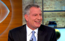 NYC Mayor de Blasio on surprise deal with Uber, Pope Francis
