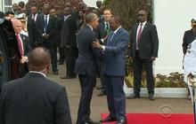 Obama pushes for gay rights in Kenya