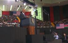 President Obama wraps up Kenya visit