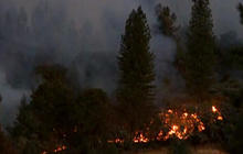 Firefighters hurt in northern California wildfires