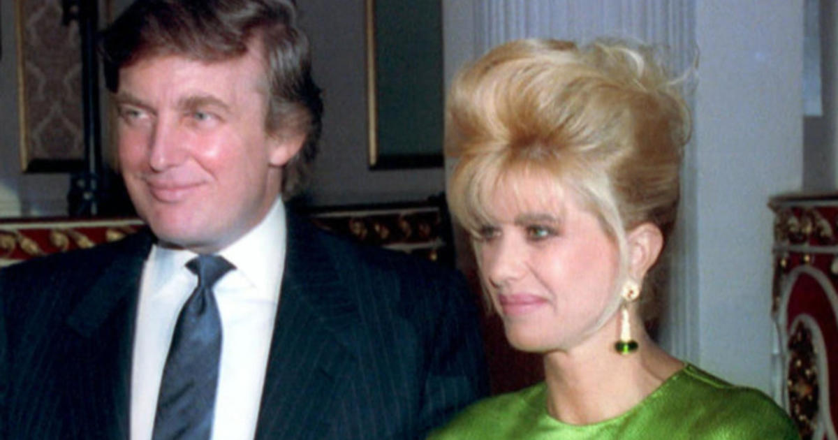 Trumps Ex Wife Rape Story Is Without Merit Cbs News