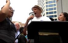Black Lives Matter protesters disrupt Bernie Sanders rally
