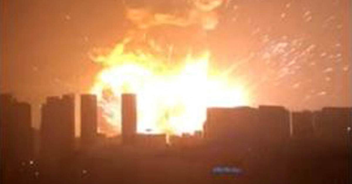 tianjin port city in china shaken by massive explosion