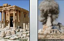 ISIS destroys historic ruins in Palmyra, Syria