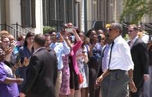 Katrina anniversary: President Obama visits New Orleans