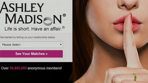 Ashley madison log on