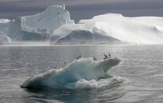 climate change melting glaciers