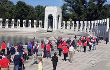 Shutdown won't keep vets from WWII memorial