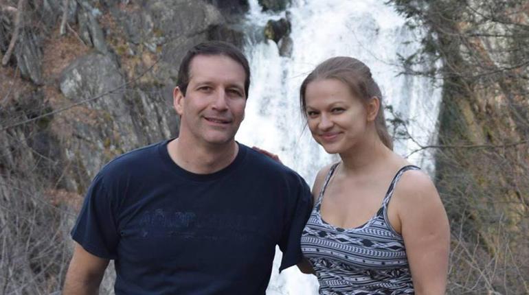 Vincent Viafore and Angelika Graswald