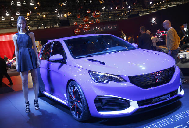 Hot wheels at the Frankfurt Motor Show