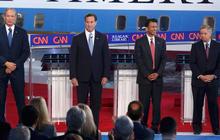 2015 Republican debate: GOP candidates on Ahmed Mohamed, Kim Davis