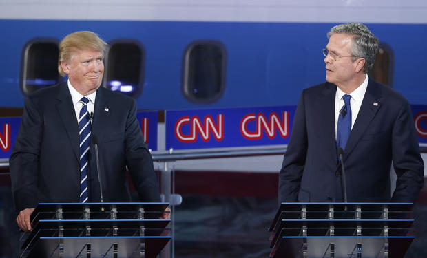 GOP debate - Republican presidential candidates spar in ...