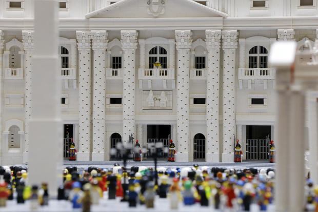 Priest uses Legos to build Vatican replica