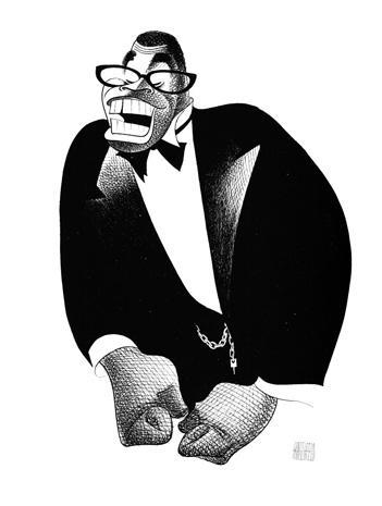 The caricatures of Al Hirschfeld