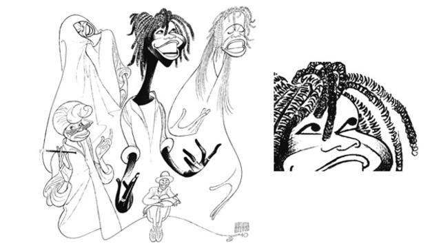The Line King Al Hirschfelds Incomparable Art Cbs News