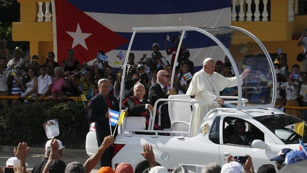 Pope Francis visits Cuba