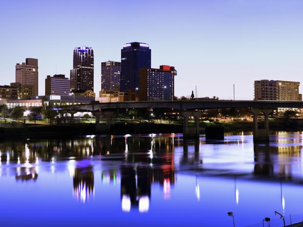 Evening in Little Rock