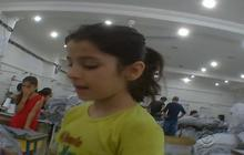 Syrian migrant children conscripted into sweat shops