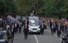 Pope tours Central Park