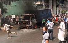 Chaos and bloodshed as Egypt forces clear protest camps