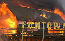 """Christie on """"unthinkable"""" N.J. boardwalk fire: """"I feel like I want to throw up"""""""