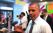 """Obama: """"Nobody's winning"""" during the government shutdown"""