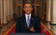 Obama makes case for Syria strike, but says diplomacy deserves more time