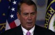 "Boehner ""surprised"" WH hasn't defended NSA surveillance more forcefully"